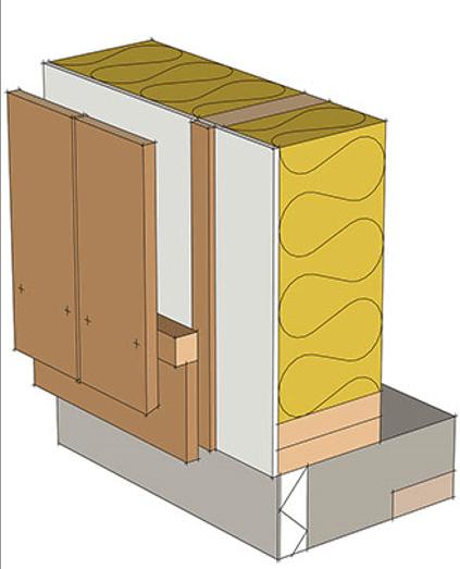 Устройство доступа воздуха в нижней части стены рис 1