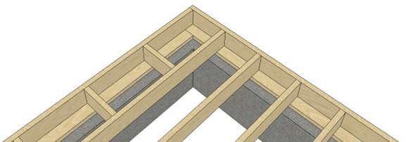 Утепление конструкций каркасного дома