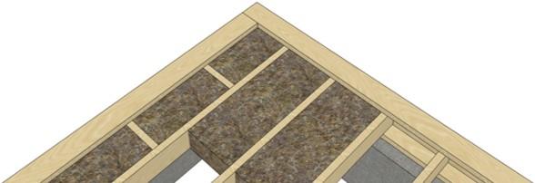 утеплитель в карксном доме плотно примыкает к конструкциям