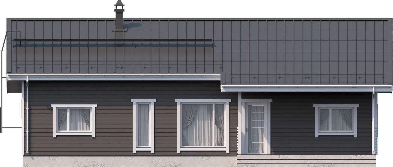 Финский одноэтажный дом Аскола 109