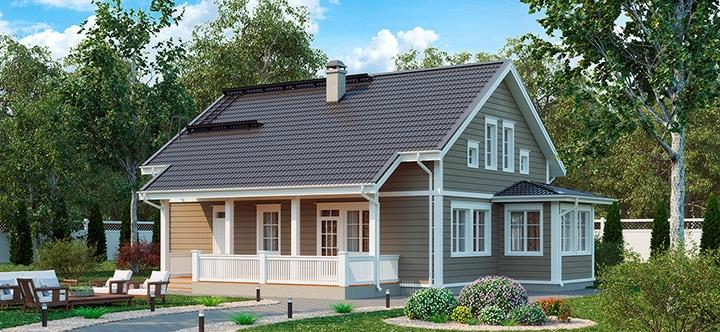 Аврора 188 классический финский дом