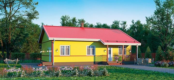 Каркасный дом Форсса 103