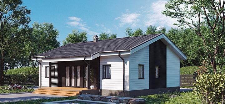 Финский дом Форсса 95