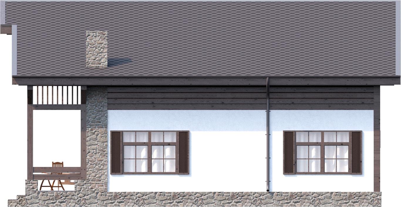 Дом в стиле Шале 195