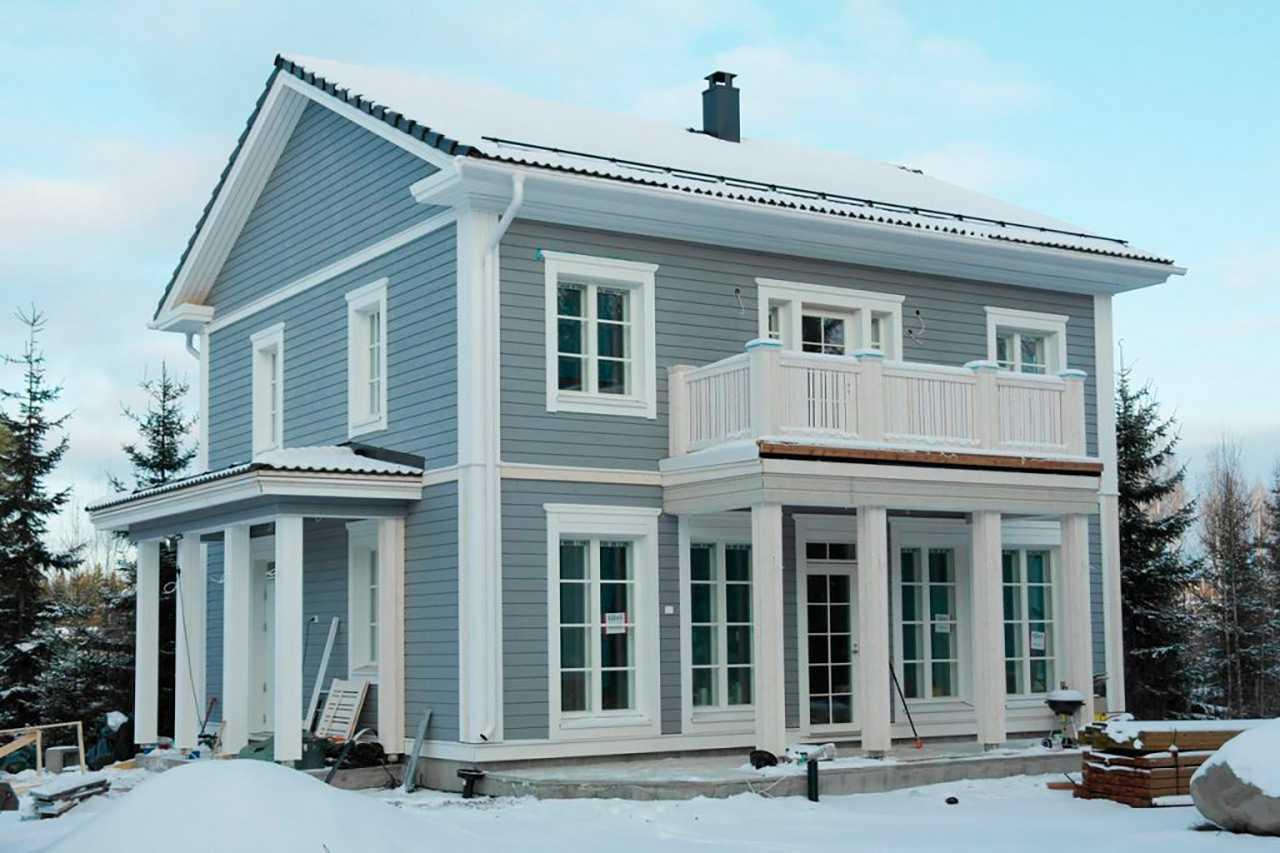 Финский дом Венла 156 построенный