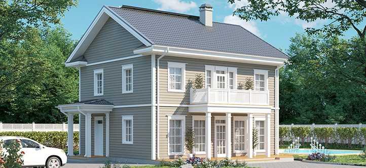 Венла 156 финский классический дом