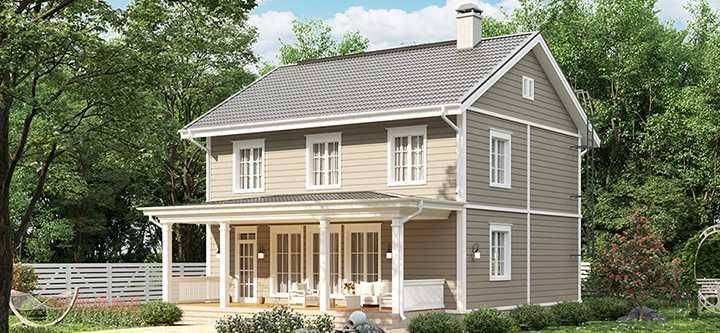 Венла 163 финский классический дом