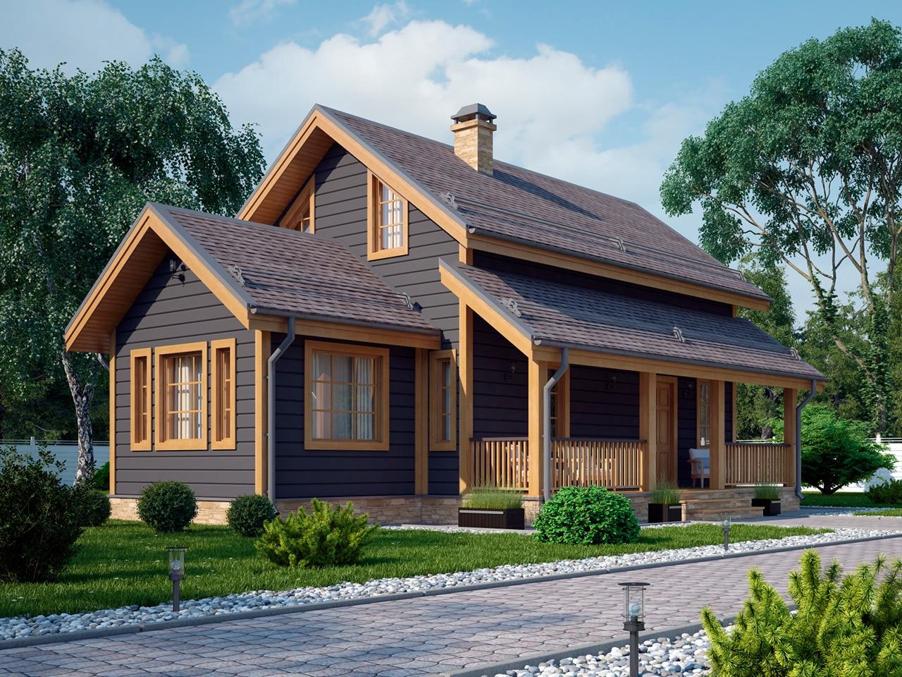 Весса 88 классический финский дом