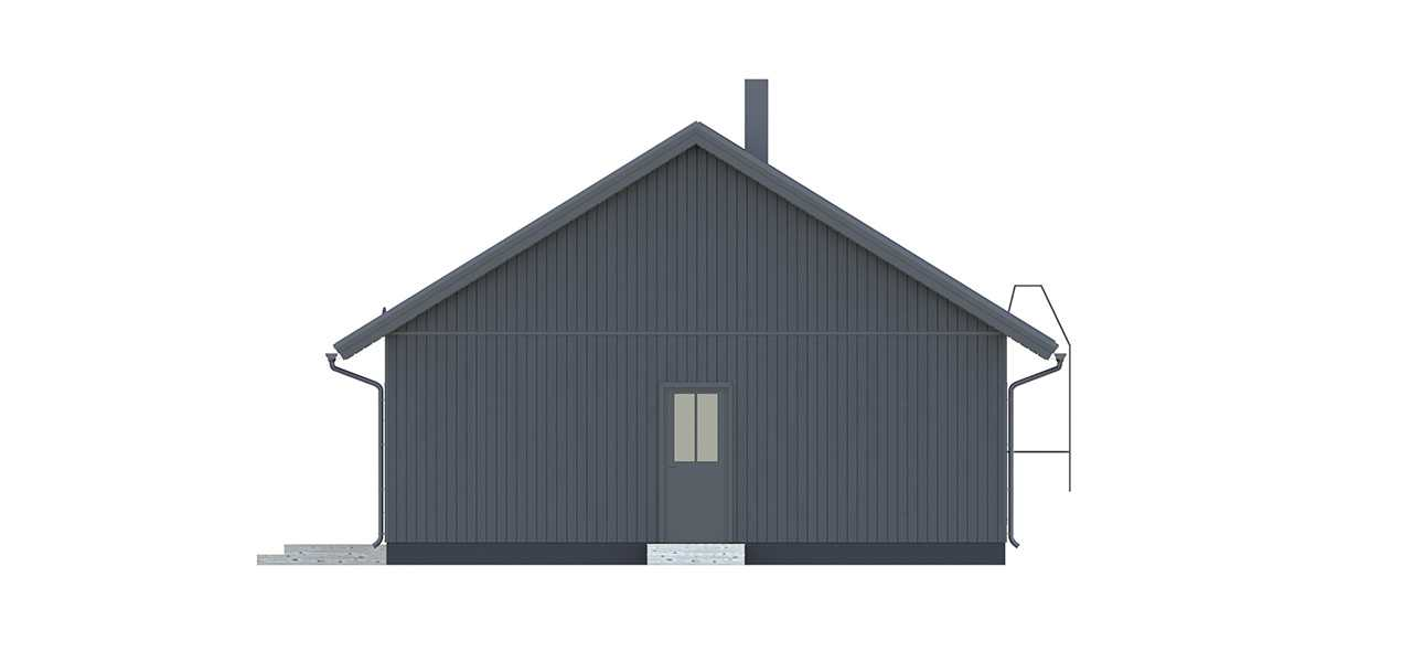 Финский каркасный дом Кело 120