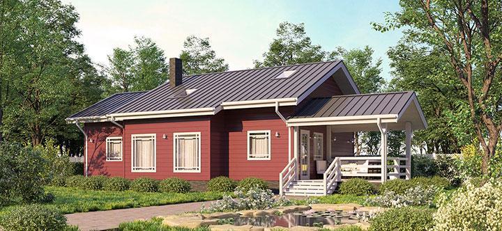 Финский дом Паули Лофт 115