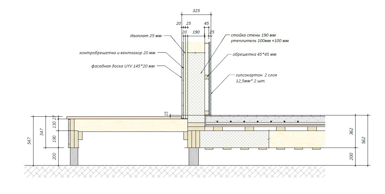 Монтаж водяного теплого поля для фундамента на винтовых сваях