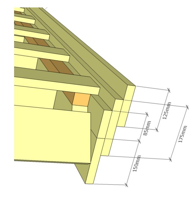 Декоративное оформление элементов фасада дома