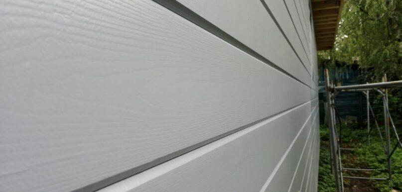 окраска фасадной доски на производстве
