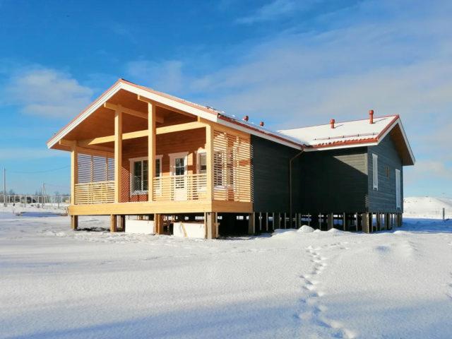 Финский дом в Маринино