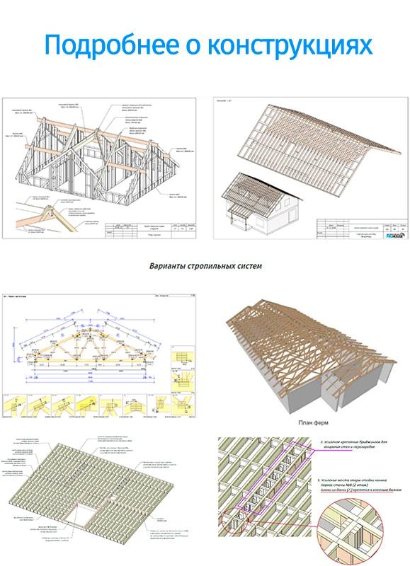 Основные конструкции в каркасном доме