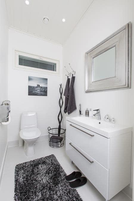 Интерьеры финского дома - ванная