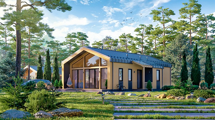 Финский дом Барн