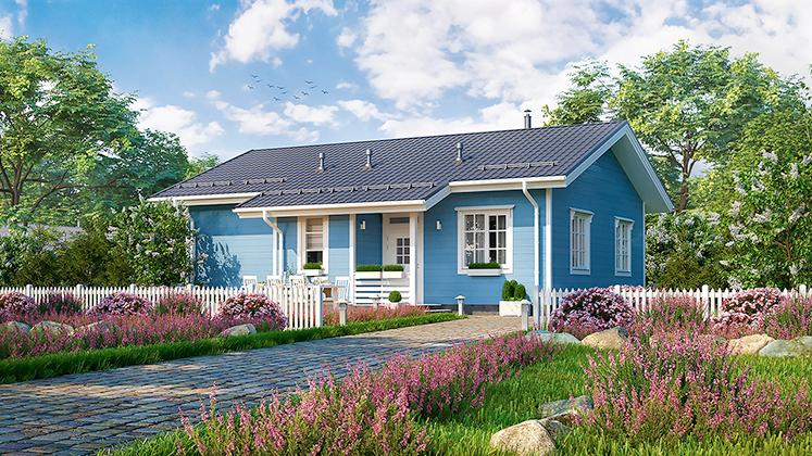Финский дом Оматало Смарт
