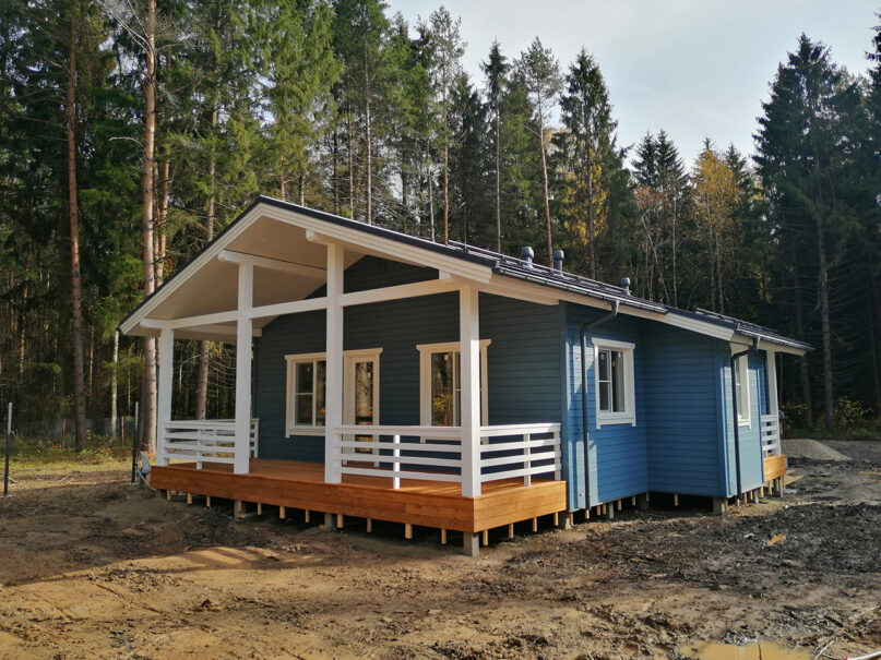 Оматало Классик финский дом