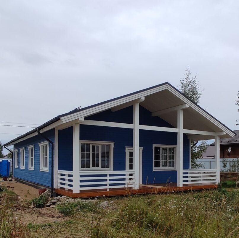 Дом в Ворсино по индивидуальному проекту